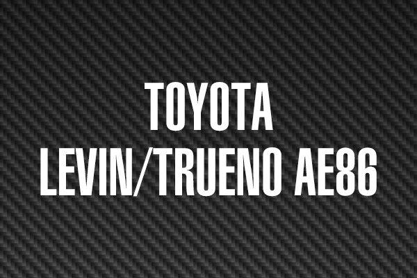 TOYOTA LEVIN/TRUENO AE86